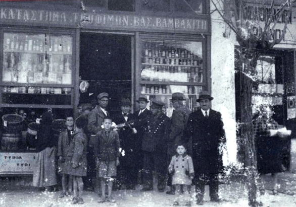 Jehny's family photographed in the 1930's