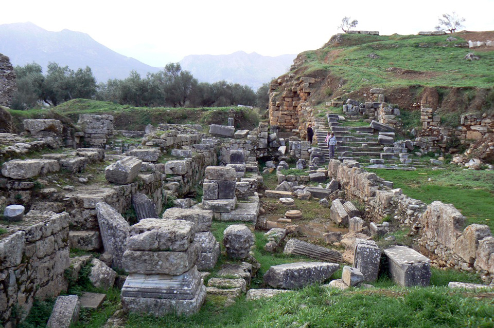 The ancient acroplis