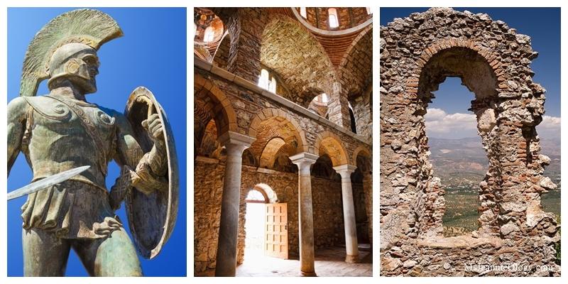 King Leonides, Byzantine Church, Mystras