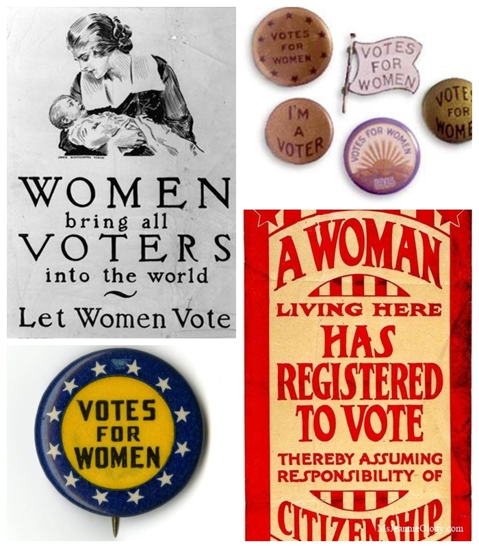 Various national campaign materials from around the United States.