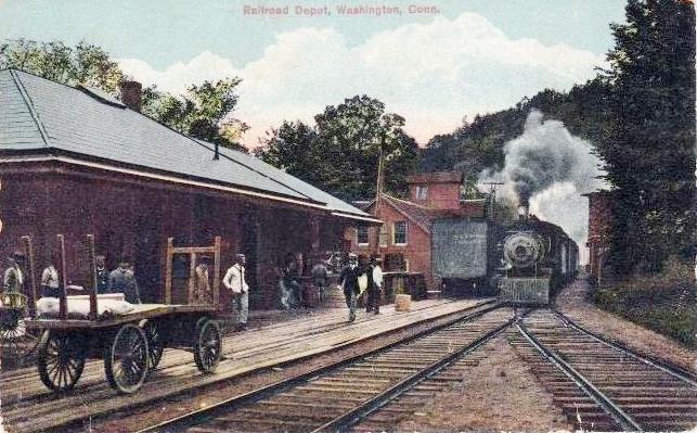 Railroad Depot, Washington CT