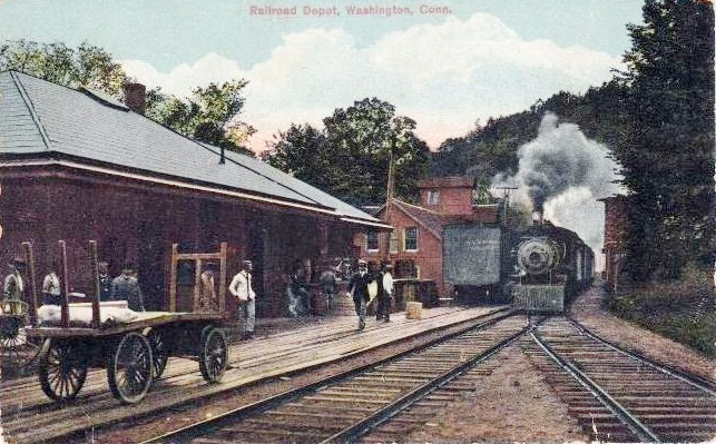 Railroad Depot, Washington CT