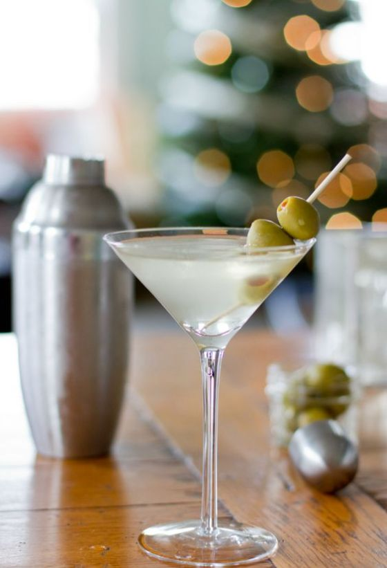 One of our favorites in the land of Ms. Jeannie - find a classic martini recipe here.
