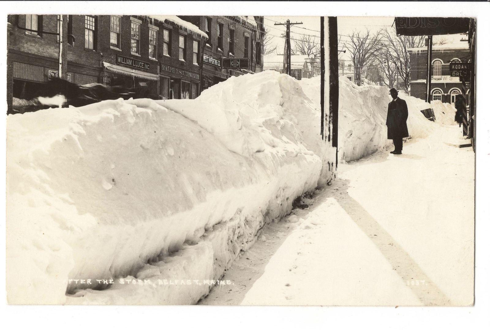 Belfast Maine, 1952