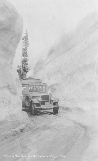 Mckenzie Pass, Oregon, 1929
