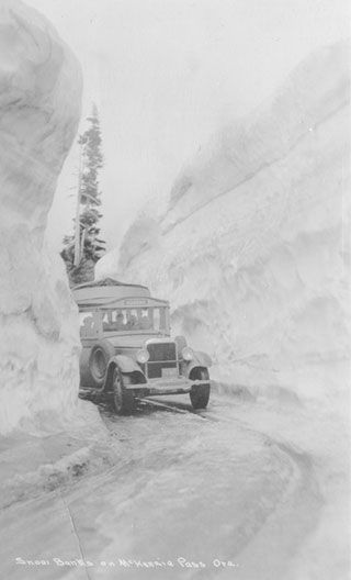 Mckenzie Pass, Oregon, 1929