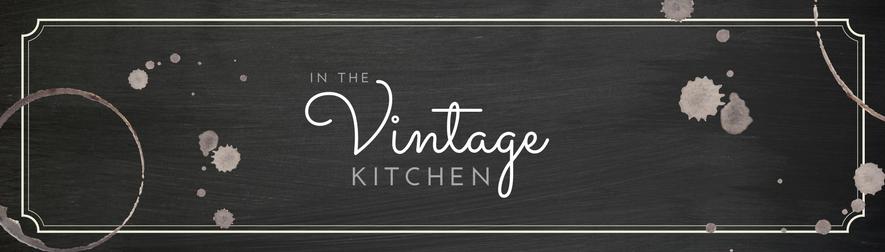 in the vintage kitchen