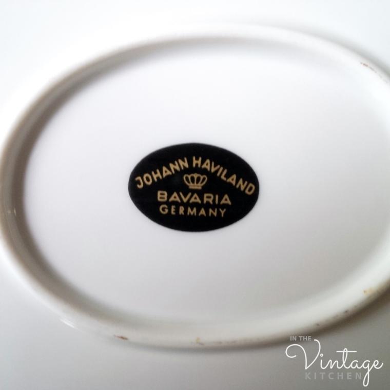 haviland china marks – In the Vintage Kitchen: Where History