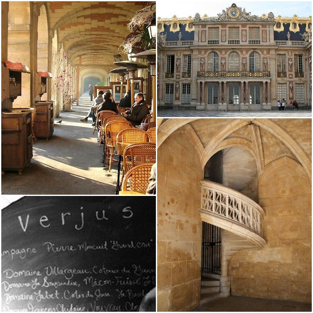 clockwise from top left le marais historic district palace de versailles hotel de cluny dating to the 1300u0027s verjus restaurant u2026